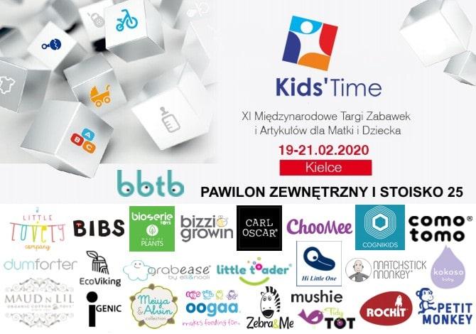 ZAPROSZENIE NA TARGI KIDS TIME 2020
