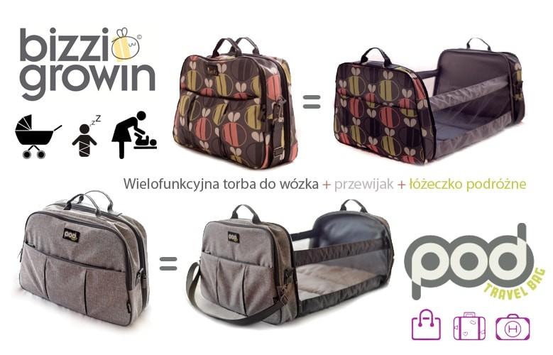 Bizzi Growin Travel POD torba do wózka z łóżeczkiem podróżnym