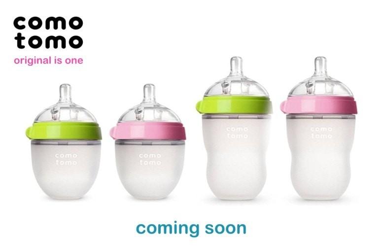 COMOTOMO - pierwsza silikonowa butelka noworodka