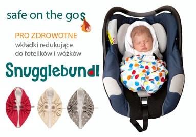 Snugglebundl czyli bezpieczny Maluch w podróży, w wózku, we śnie